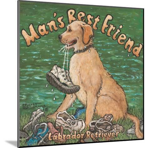 Man?s Best Friend-Janet Kruskamp-Mounted Art Print