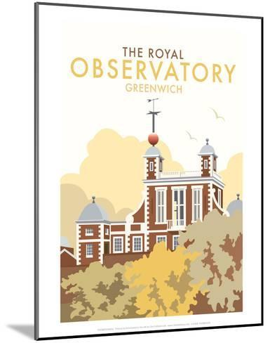 Royal Observatory - Dave Thompson Contemporary Travel Print-Dave Thompson-Mounted Art Print