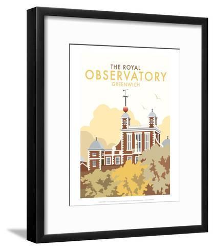 Royal Observatory - Dave Thompson Contemporary Travel Print-Dave Thompson-Framed Art Print