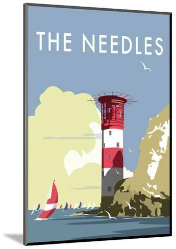 The Needles - Dave Thompson Contemporary Travel Print-Dave Thompson-Mounted Art Print