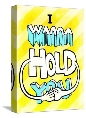 I Wanna Hold You - Tommy Human Cartoon Print-Tommy Human-Stretched Canvas Print