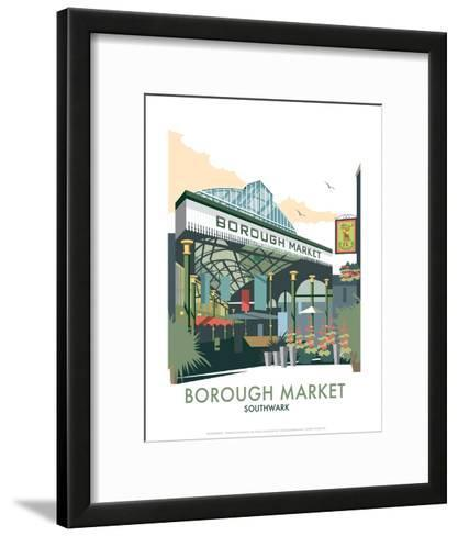 Borough Market - Dave Thompson Contemporary Travel Print-Dave Thompson-Framed Art Print