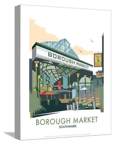 Borough Market - Dave Thompson Contemporary Travel Print-Dave Thompson-Stretched Canvas Print