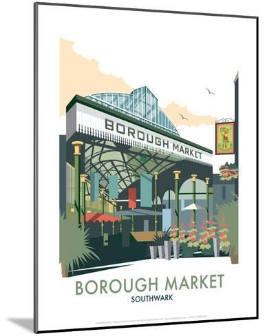 Borough Market - Dave Thompson Contemporary Travel Print-Dave Thompson-Mounted Art Print