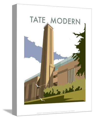 The Tate Modern - Dave Thompson Contemporary Travel Print-Dave Thompson-Stretched Canvas Print