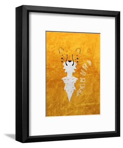 Leopard - Jethro Wilson Contemporary Wildlife Print-Jethro Wilson-Framed Art Print