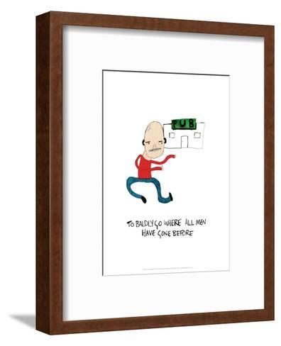 PUB - Tom Cronin Doodles Cartoon Print-Tom Cronin-Framed Art Print