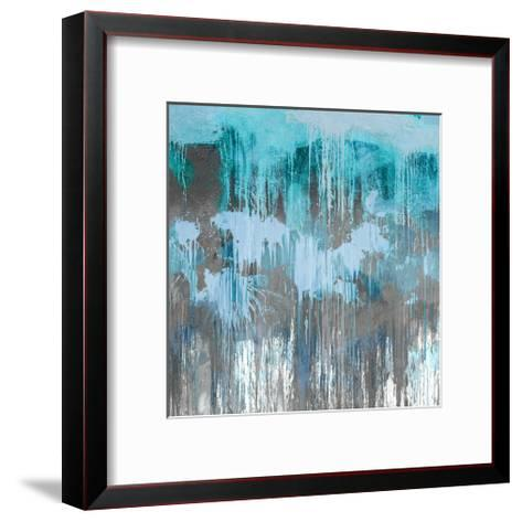Unleashed Aqua-Tom Conley-Framed Art Print
