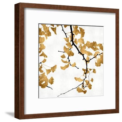 Ginko in Gold II-Kate Bennett-Framed Art Print