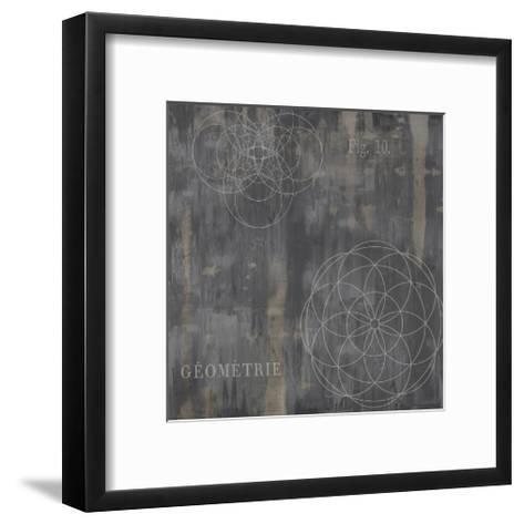 Géométrie IV-Oliver Jeffries-Framed Art Print
