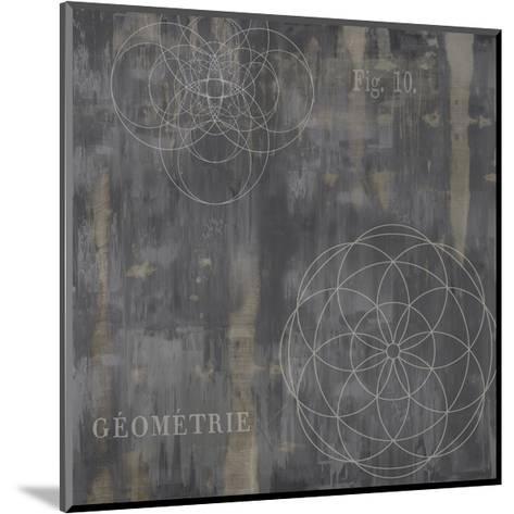 Géométrie IV-Oliver Jeffries-Mounted Giclee Print