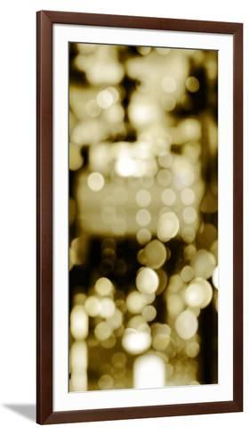 Golden Reflections Triptych II-Kate Carrigan-Framed Art Print