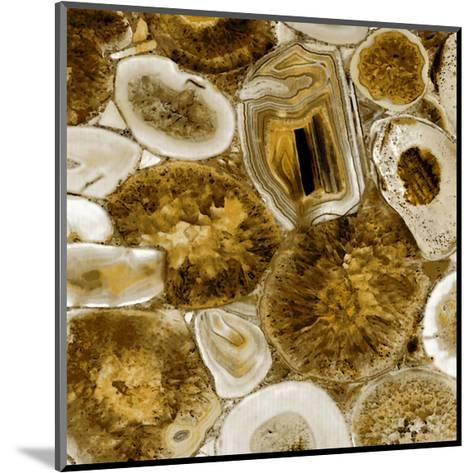 Agate in Gold I-Danielle Carson-Mounted Giclee Print
