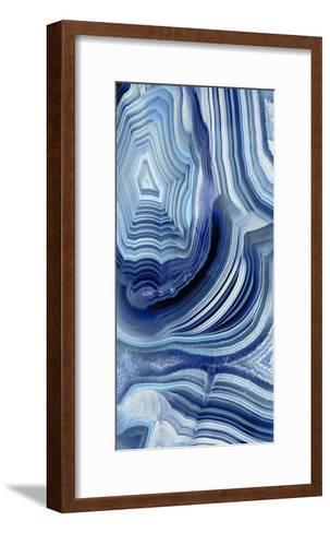 Agate Indigo I-Danielle Carson-Framed Art Print