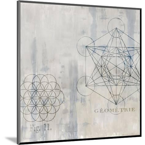 Géométrie I-Oliver Jeffries-Mounted Giclee Print