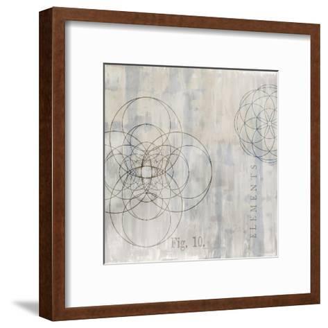 Géométrie II-Oliver Jeffries-Framed Art Print