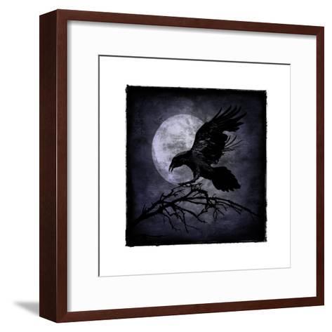 Crow-Martin Wagner-Framed Art Print