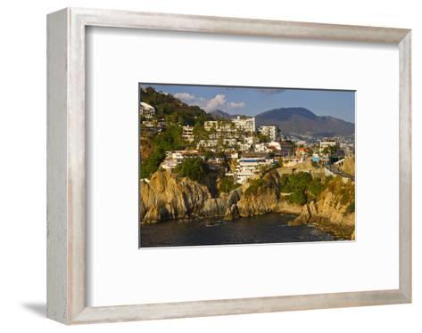Acapulco Elvis Diving Rock--Framed Art Print