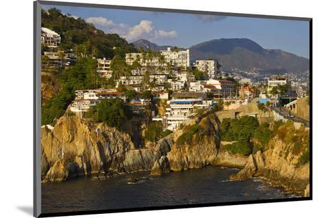 Acapulco Elvis Diving Rock--Mounted Art Print