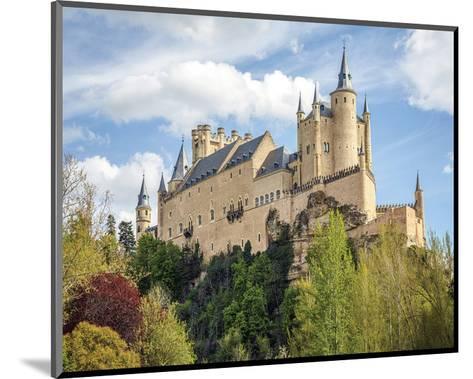 Alcazar Castle Segovia Spain--Mounted Art Print
