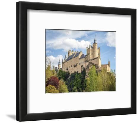 Alcazar Castle Segovia Spain--Framed Art Print
