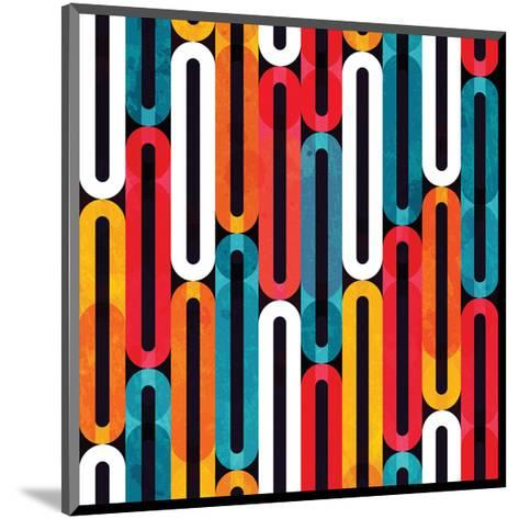 Bright Colorful Grunge Pattern--Mounted Art Print