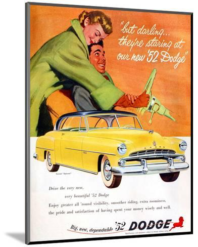 Big New Dependable 52 Dodge--Mounted Premium Giclee Print