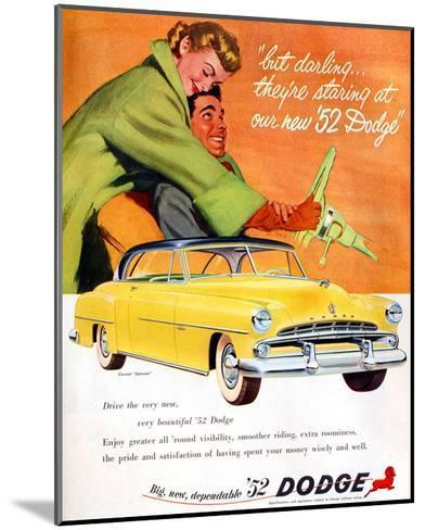 Big New Dependable 52 Dodge--Mounted Premium Giclee Print