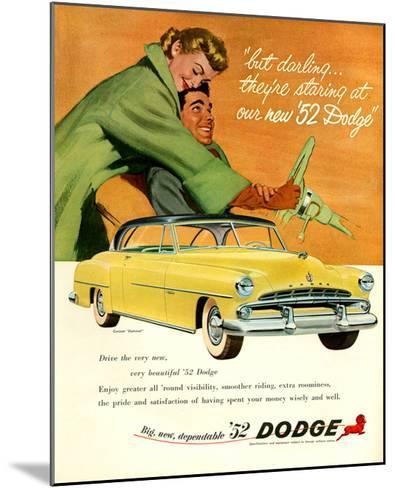 Big New Dependable 52 Dodge--Mounted Art Print