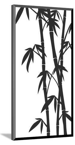 Bamboo Stems Ink Sketch--Mounted Art Print