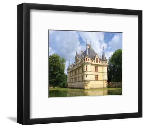Azay Le Rideau Castle France--Framed Art Print