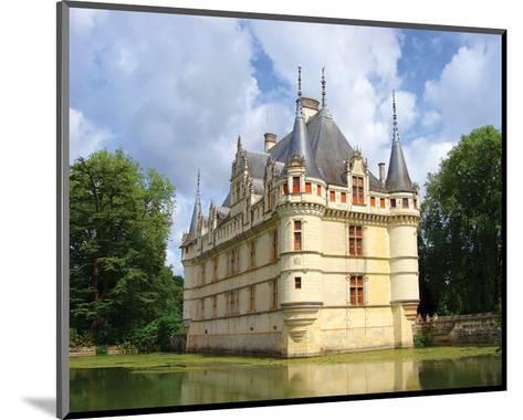 Azay Le Rideau Castle France--Mounted Art Print
