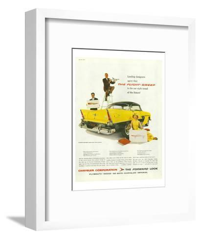 Chrysler - the Flight-Sweep--Framed Art Print