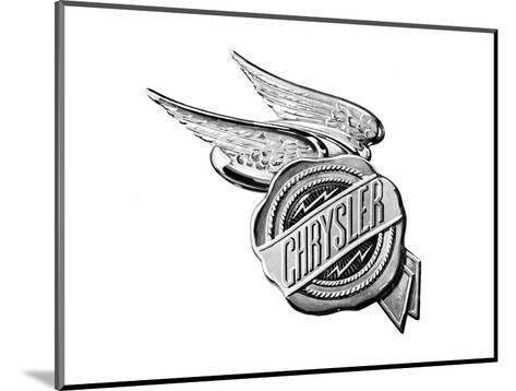 Chrysler Wings Logo 1928--Mounted Art Print