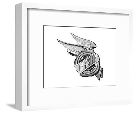 Chrysler Wings Logo 1928--Framed Art Print