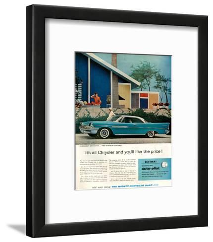 Chrysler New Windsor Dartline--Framed Art Print