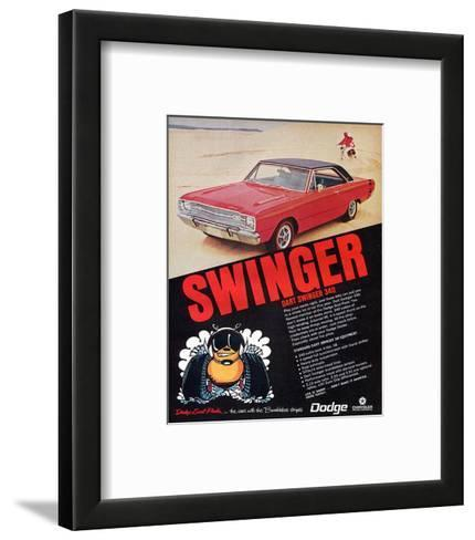 Dodge Dart Swinger 340--Framed Art Print