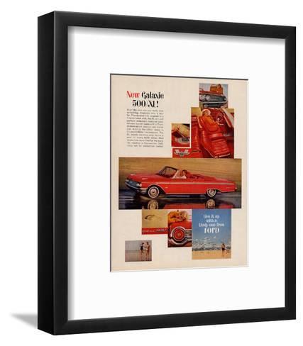 Ford 1962 Galaxie 500/SL--Framed Art Print
