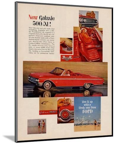 Ford 1962 Galaxie 500/SL--Mounted Art Print