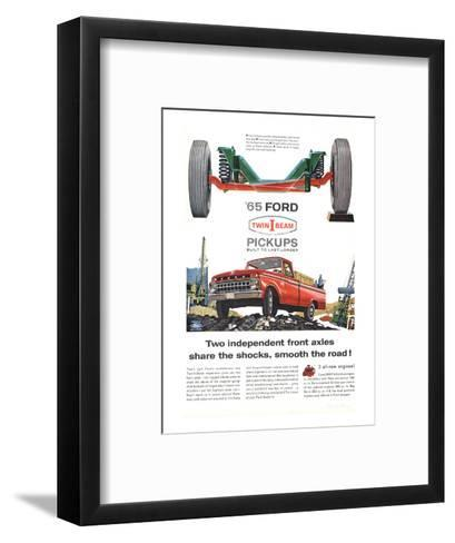 Ford 1965 Twin-I-Beam Pickups--Framed Art Print