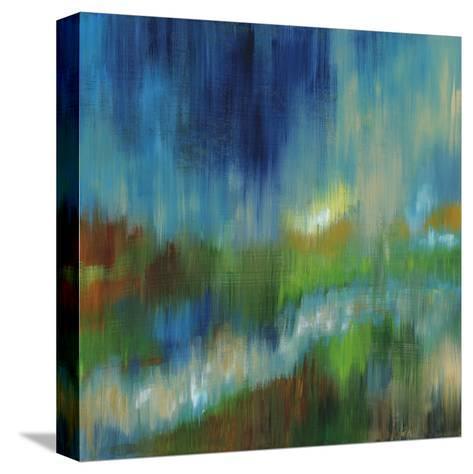 Blurred Landscape II--Stretched Canvas Print