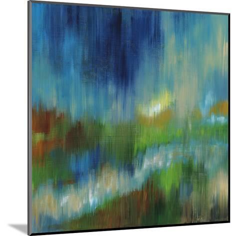 Blurred Landscape II--Mounted Art Print