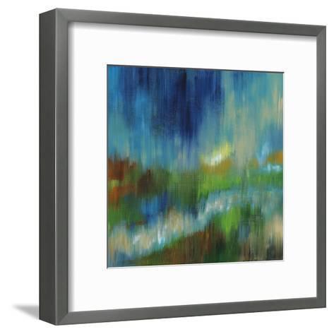 Blurred Landscape II--Framed Art Print