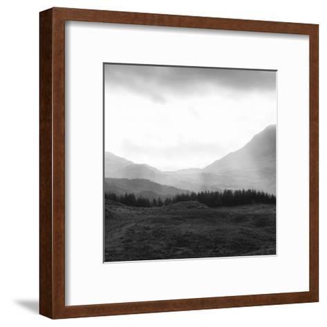 Horizon Hills II--Framed Art Print