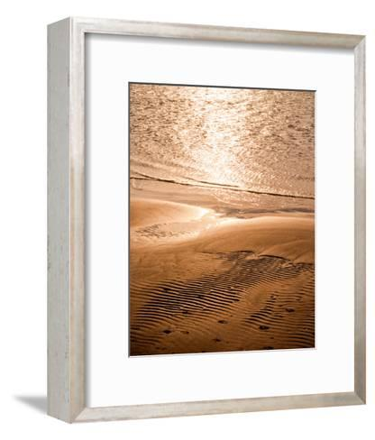 Copper Sand Beach--Framed Art Print