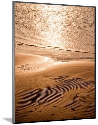 Copper Sand Beach--Mounted Art Print