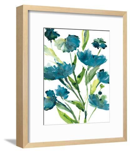 Blueberry Blooms II-Rebecca Meyers-Framed Art Print
