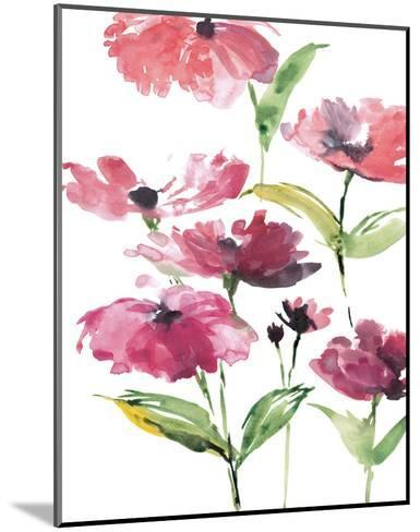 Tickled Pink Posies-Rebecca Meyers-Mounted Art Print