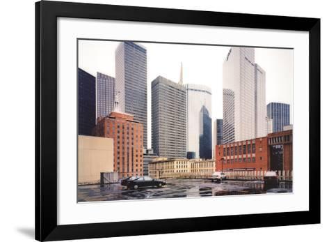 Dallas Parking Lot, Dallas-Thomas Struth-Framed Art Print