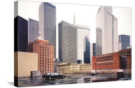 Dallas Parking Lot, Dallas-Thomas Struth-Stretched Canvas Print